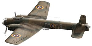 Armstron Whitworth 38 Whitley by araeld