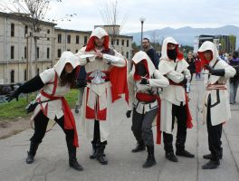Assassin Group Cosplay by Maspez