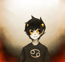 Karkat EDITED. by laurel-name