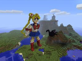 Sailormoon in Minecraft (WIP) by Jago-Mizukami