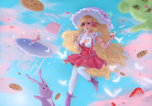 Palette of heaven / Contest by katagro