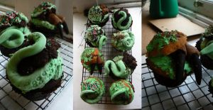 Cthulhu Muffins of Madness!!!! by NightPhoenixArt