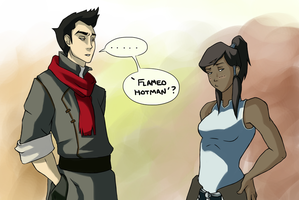 Korra's Flirting Skills by Art-Magpie