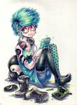 untitled - gamer girl by Parororo