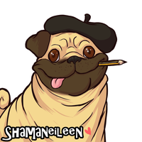 Her Pugness by ShamanEileen