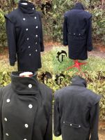 Men winter coat by Feral-Workshop