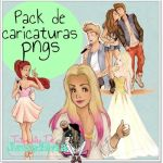 Pack de Caricaturas PNG by MyWorldEditionsPsc