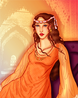 Wallada: Pearl of Al-Andalus by andi-scribbles