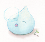 Sleepy Slime by Hadeki