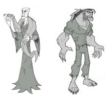 Voldy and Fen Fen by chief-orc