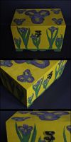 The box of Irises by kardamonow