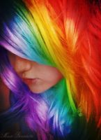 Rainbows in Your Hair by SamanthaLenore