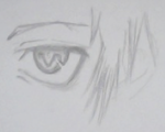 Eye Sketch #1 by Avaron-Amaterasu