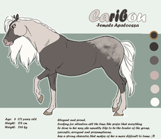 .: Caribou Sheet Reference :. by PirateHearts