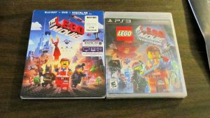 The Lego Movie Blu-Ray and PS3 game by BigMac1212