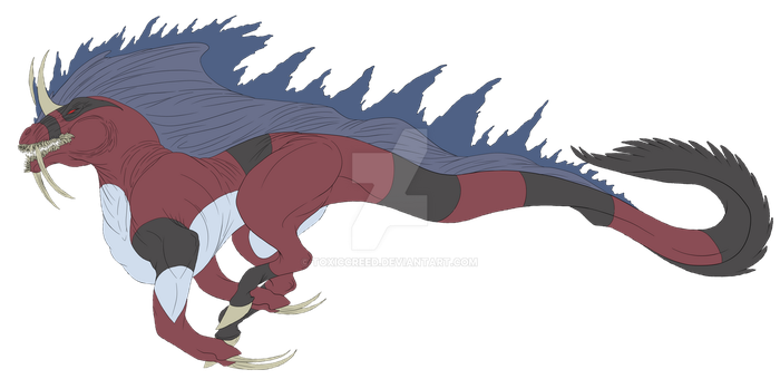 Pokemon: Common Lesser Bunyip by ToxicCreed