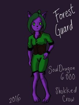Forest Guard by SoulDragon6000 by Shokked-crow