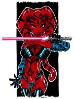 Darth Talon by misfitcorner