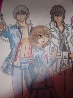 Vampire Knight. by Dibujosrocio