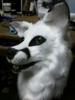 pre-made white fox by xiamara13