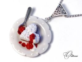 Sweet Heart Pendant 1 by OrionaJewelry