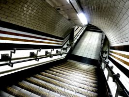 Going Underground - Tiled Tube by michael-brown