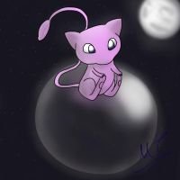 Mew by moonshoespotter123