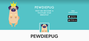 PewDiePug is now on Tumblr by DavidZobrist