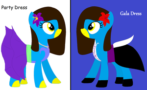 MLP: My Gala and Party Dress! by Ravenslpash26