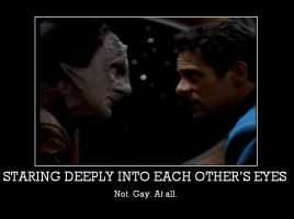 Bashir and Garak. . .yeah by Trekkie-By-Birth
