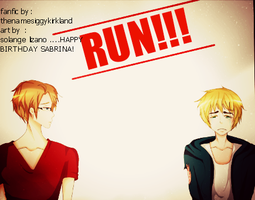Run Cover by imabrownie
