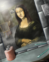 Modern Mona Lisa by merrak