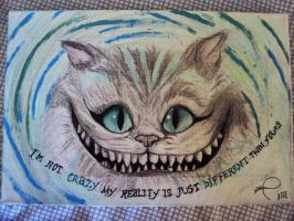 Cheshire Cat - Alice in Wonderland by NekoPhantomhive