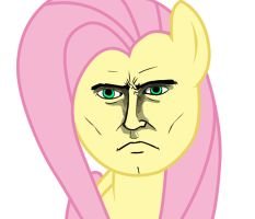 Fluttershy I'm Okay with this by Doggie999