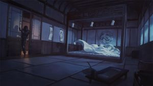 Rise of the Kage - Outside the Lords Bedroom - by KlausPillon