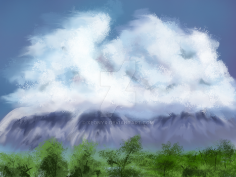 Cloud Mountains by Xeonyx