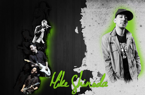 Mike Shinoda wallpaper by QuEeN-MiUsHkA