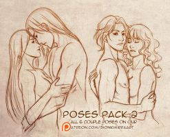 Poses practice by Kimir-Ra