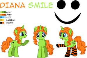 Diana Smile Color Guide by Pinkiemina