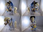 MLP Derpy plush (commission) by Little-Broy-Peep