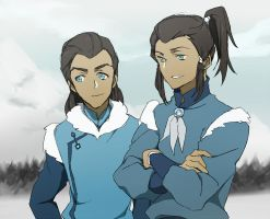 Noatak and Tarrlok by CATGIRL0926