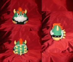 Cosplay Onigiri - Bowser by merlinemrys