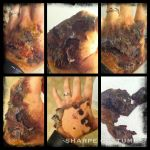 Makeup test: burn victim by Sharpe19