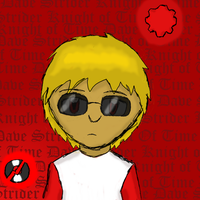 Dave Strider- Knight of Time by RMAfan101