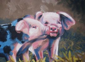 Piglets by nessi6688