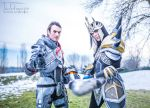Friendship Power - Shepard and Jarvan IV Cosplay by LeonChiroCosplayArt