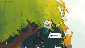 Finn and Jake! by spaded-square