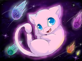 .:Mew Used.....:. by Kitsune-wolf