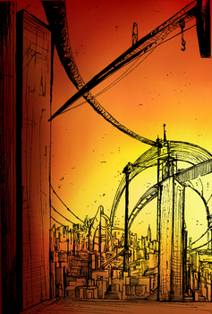 The CONSTRUCTION lineart by W-H-E-A-T