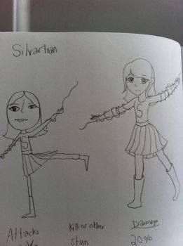Silvertran by PorpleTortle